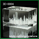 3d crystal groups of buildings