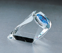 crystal clock, crystal timepiece